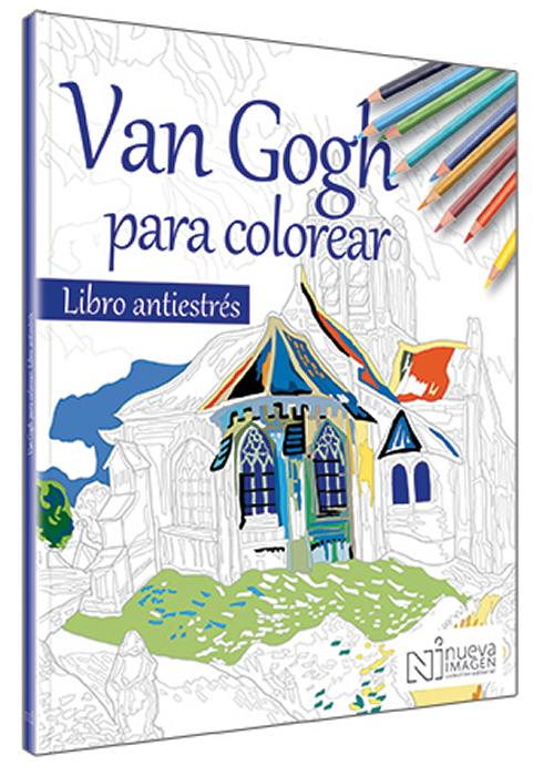 Van Gogh para colorear   Nueva Imagen